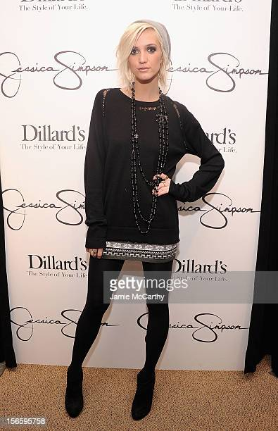 Ashlee Simpsonn visits Dillard's at International Plaza In Support Of the Jessica Simpson Collection on November 17 2012 in Tampa Florida