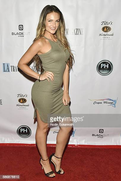 Ashlee Williss attends Los Angeles Travel Magazine 2016 Endless Summer Issue Release at Penthouse Nightclub Dayclub on August 6 2016 in West...