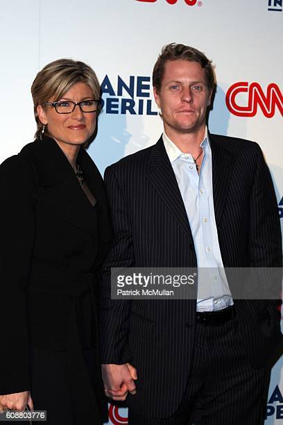 Ashleigh Banfield and Howard Gould attend CNN Hosts Private Screening of Environmental Documentary PLANET IN PERIL at The American Museum of Natural...
