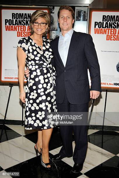Ashleigh Banfield and Howard Gould attend HBO Documentary Films' New York Premiere of ROMAN POLANSKI Wanted and Desired at The Paris Theater on May 6...