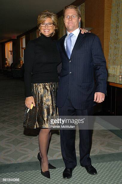 Ashleigh Banfield and Howard Gould attend Modern Bride Celebrates 25 Trendsetters of The Year Awards at The Ritz Carlton on April 12 2005 in New York...