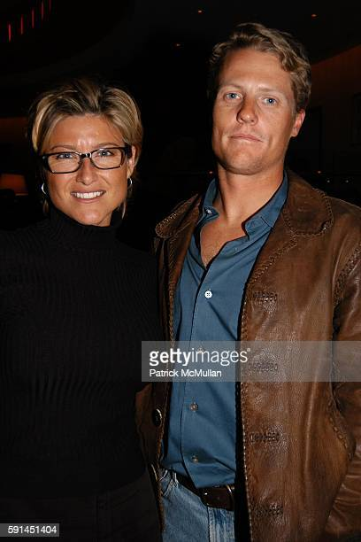 Ashleigh Banfield and Howard Gould attend Premier of Inside Deep Throat at Paris Theatre on February 7 2005 in New York City