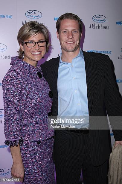 Ashleigh Banfield and Howard Gould attend Premiere of the HBO Documentary LE CIRQUE A TABLE IN HEAVEN at Le Cirque on December 3 2008 in New York City