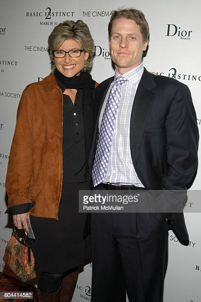 Ashleigh Banfield and Howard Gould attend THE CINEMA SOCIETY and DIOR BEAUTY present the Premiere of BASIC INSTINCT 2 at AMC Lincoln Center Theatre...