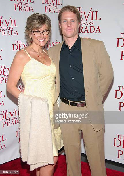 Ashleigh Banfield and Howard Gould during The Devil Wears Prada New York Premiere Arrivals at AMC Loews Lincoln Square in New York City New York...