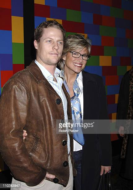 "Ashleigh Banfield and husband Howart Gould during ""Thank You For Smoking"" New York Premiere - Inside Arrivals - March 12, 2006 at Museum of Modern..."