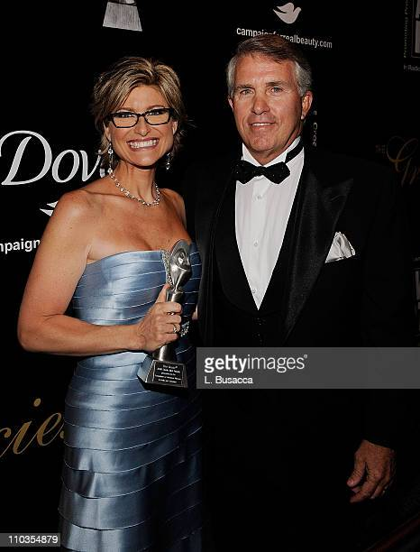 Ashleigh Banfield and Jack Ford attends the 33rd Annual American Women In Radio Television Gracie Allen Awards at the Marriott Marquis on May 28 2008...
