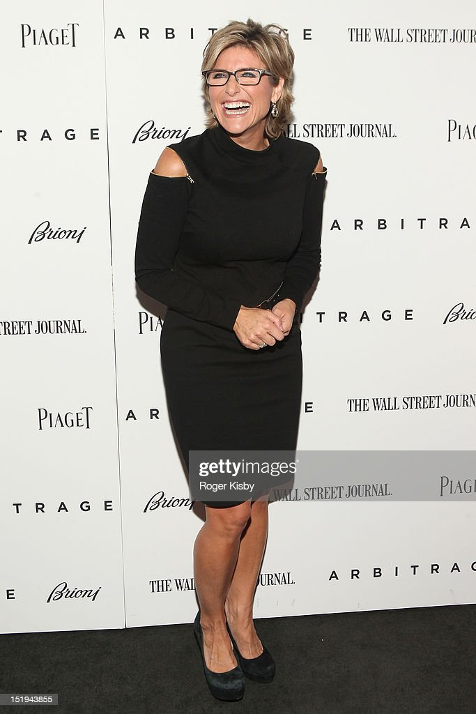 Ashleigh Banfield attends the 'Arbitrage' New York Premiere at Walter Reade Theater on September 12, 2012 in New York City.