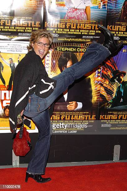 Ashleigh Banfield during New York Premiere of Kung Fu Hustle at Ziegfeld Theater in New York City New York United States