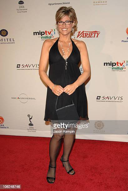 Ashleigh Banfield during The 34th International Emmy Awards Gala Arrivals November 20 2006 at The New York Hilton in New York City New York United...