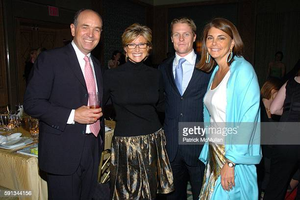 Ashleigh Banfield Howard Gould and Antonia van der Meer attend Modern Bride Celebrates 25 Trendsetters of The Year Awards at The Ritz Carlton on...