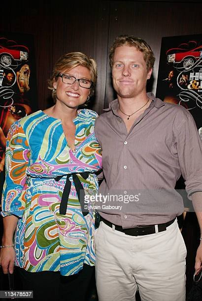 Ashleigh Banfield Howard Gould during Paramount Classics and MTV Film private screening of Hustle Flow at The MGM Screening Room in New York New York...