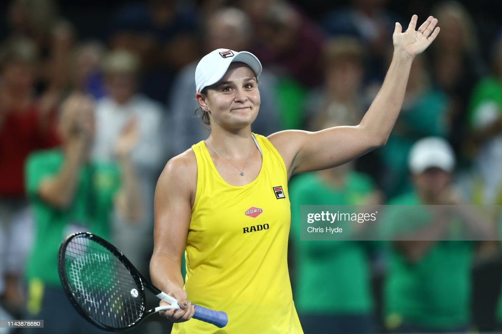 AUS: Fed Cup World Group Semi Final - Australia v Belarus