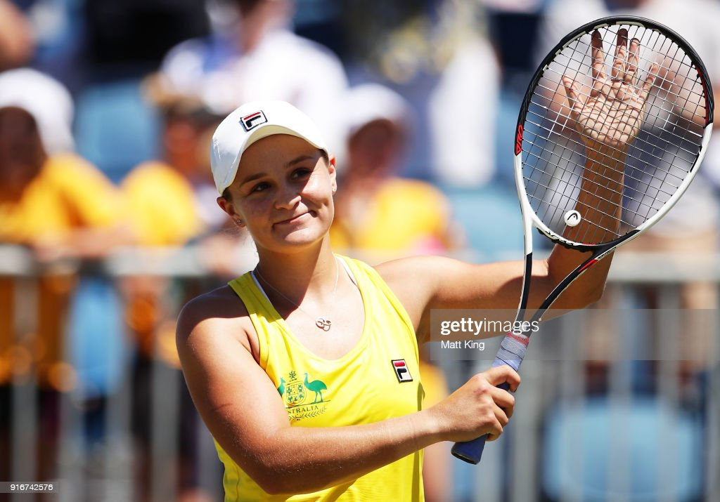 Australia v Ukraine - Fed Cup