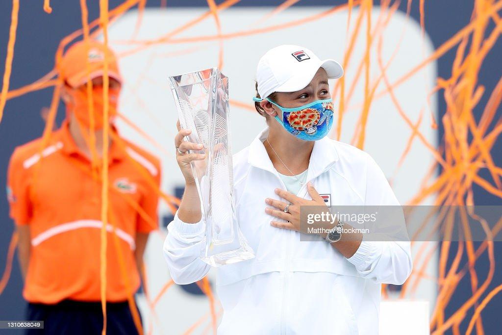 2021 Miami Open - Day 13 : News Photo