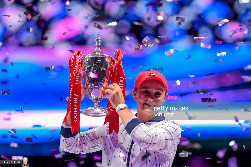 TOPSHOT-TENNIS-WTA-CHN : News Photo