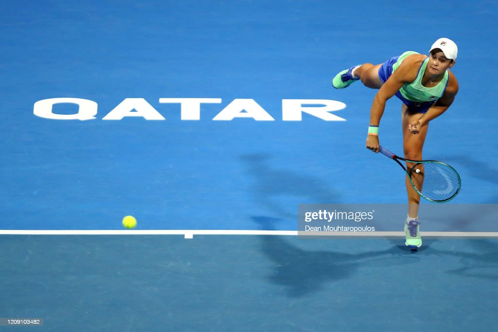 Qatar Total Open 2020 - Day Five : News Photo