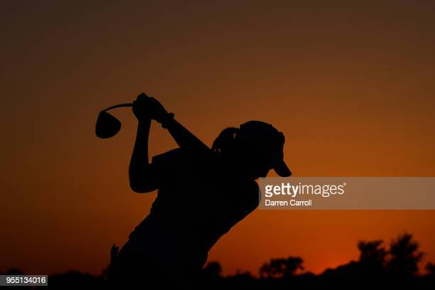 Ashleigh Buhai of South Africa plays a tee shot at the ninth hole during the second round of the 2018 Volunteers of America LPGA Texas Classic at Old...
