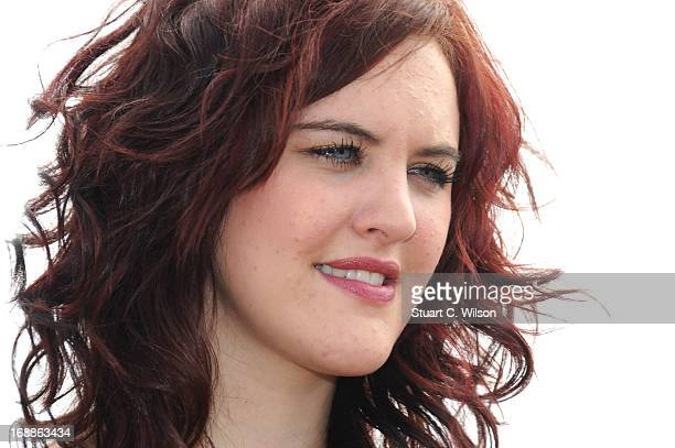 Ashleigh Butler attends Pudsey The Movie Photocall during the 66th Annual Cannes Film Festival at the Palais des Festivals on May 16 2013 in Cannes...