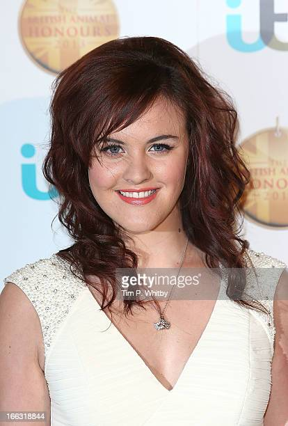 Ashleigh Butler attends The British Animal Honours 2013 at Elstree Studios on April 11 2013 in Borehamwood England