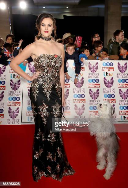 Ashleigh Butler attends the Pride Of Britain Awards at Grosvenor House on October 30 2017 in London England