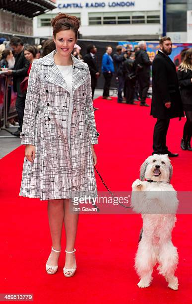 Ashleigh Butler attends the World Premiere of Postman Pat at Odeon West End on May 11 2014 in London England