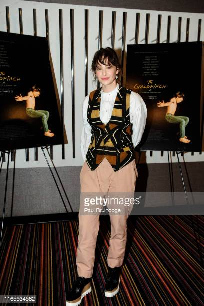 Ashleigh Cummings attends Bergdorf Goodman And Warner Bros Host A Special Screening Of The Goldfinch at Cinema 123 on September 3 2019 in New York...