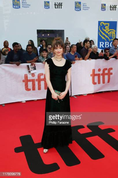 Ashleigh Cummings attends The Goldfinch premiere during the 2019 Toronto International Film Festival at Roy Thomson Hall on September 08 2019 in...