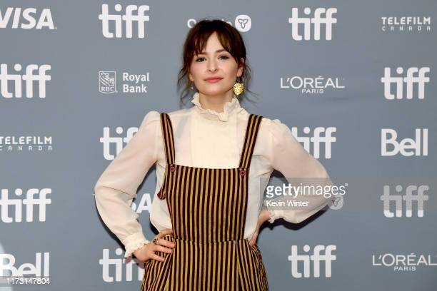 Ashleigh Cummings attends The Goldfinch press conference during the 2019 Toronto International Film Festival at TIFF Bell Lightbox on September 08...