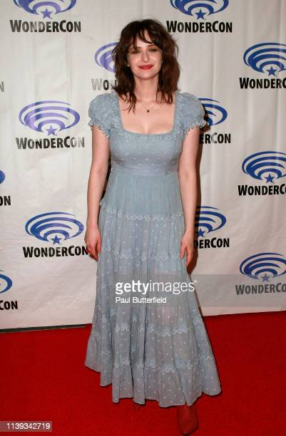 Ashleigh Cummings attends the 'NOS4A2' press line during WonderCon 2019 at Anaheim Convention Center on March 30 2019 in Anaheim California