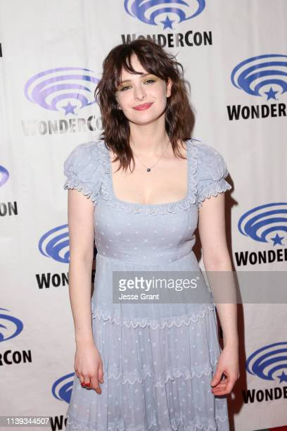 Ashleigh Cummings attends the Wondercon Nos4a2 screening and panel at Anaheim Convention Center on March 30 2019 in Anaheim California
