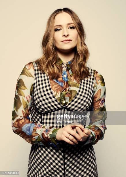 Ashleigh Cummings from 'Hounds of Love' poses at the 2017 Tribeca Film Festival portrait studio on April 21 2017 in New York City