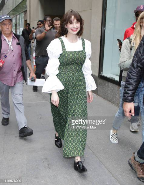 Ashleigh Cummings is seen on May 30, 2019 in New York City.