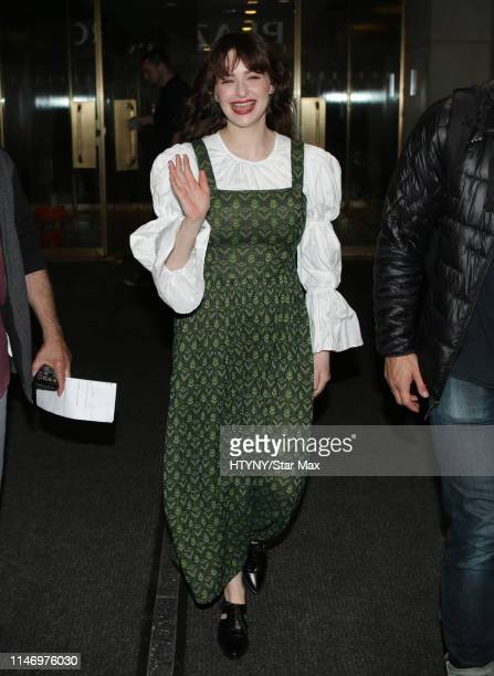 Ashleigh Cummings is seen on May 30 2019 in New York City
