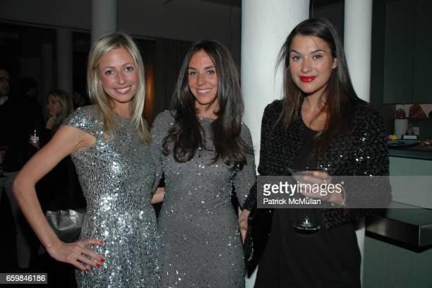 Ashleigh Dempster Amanda Blakely and Brooke Elliott attend THE SOCIETY PRESENTS POP The Genius of ANDY WARHOL hosted by Naeem and Ranjana Khan at 129...