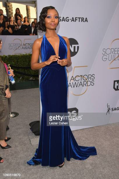 Ashleigh LaThrop attends the 25th Annual Screen ActorsGuild Awards at The Shrine Auditorium on January 27 2019 in Los Angeles California
