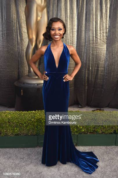 Ashleigh LaThrop attends the 25th Annual Screen ActorsGuild Awards at The Shrine Auditorium on January 27 2019 in Los Angeles California 480595
