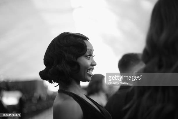 Ashleigh LaThrop attends the 25th Annual Screen ActorsGuild Awards at The Shrine Auditorium on January 27 2019 in Los Angeles California 480620