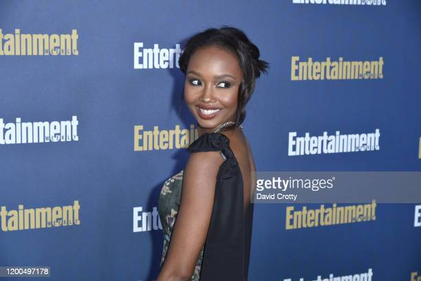 Ashleigh LaThrop attends the Entertainment Weekly Honors Screen Actors Guild Awards Nominees Presented In Partnership With SAG Awards at Chateau...