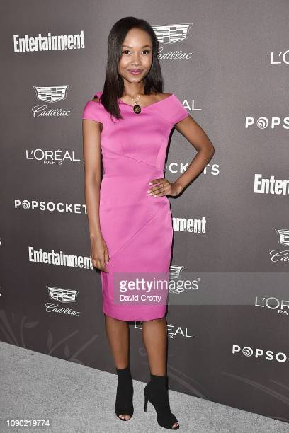 Ashleigh LaThrop attends the Entertainment Weekly PreSAG Party Arrivals at Chateau Marmont on January 26 2019 in Los Angeles California