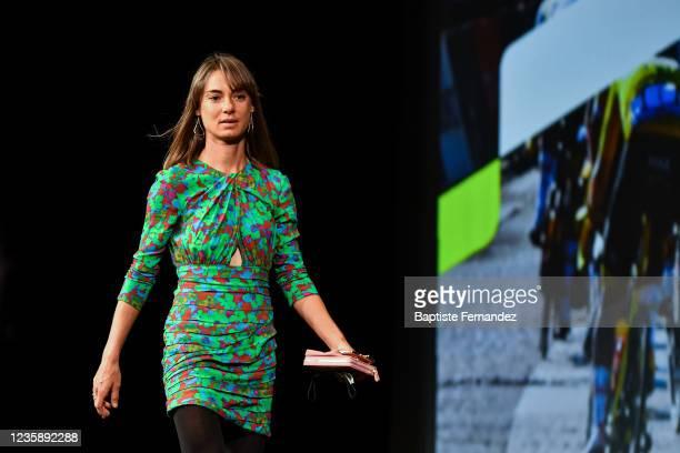 Ashleigh MOOLMAN PASIO during the presentation of the Tour de France 2022 at Palais des Congres on October 14, 2021 in Paris, France.