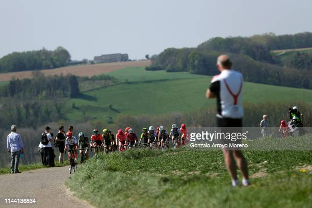 Ashleigh Moolman Pasio of South Africa and Team CCC-Liv / Cecilie Uttrup Ludwig of Denmark and Bigla Pro Cycling Team / Annemiek van Vleuten of The...