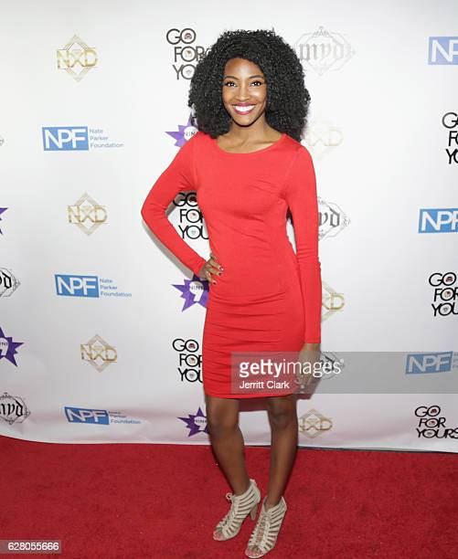 Ashleigh Morghan attends the 9th Annual Manifest Your Destiny Toy Drive And Fundraiser on December 5 2016 in Hollywood California