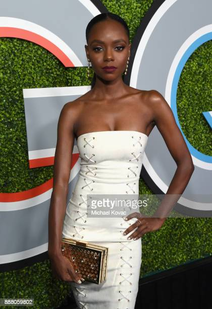 Ashleigh Murray attends the 2017 GQ Men of the Year party at Chateau Marmont on December 7 2017 in Los Angeles California