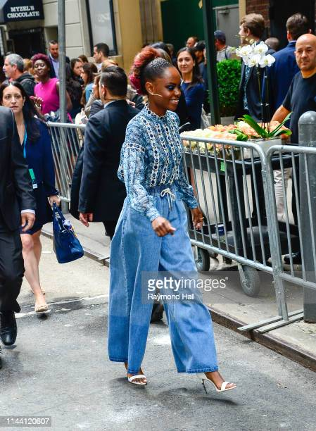 Ashleigh Murray attends the 2019 CW Network Upfront on May 16 2019 in New York City