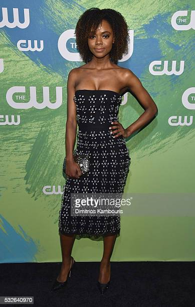 Ashleigh Murray attends the CW Network's 2016 New York Upfront Presentation at The London Hotel on May 19 2016 in New York City