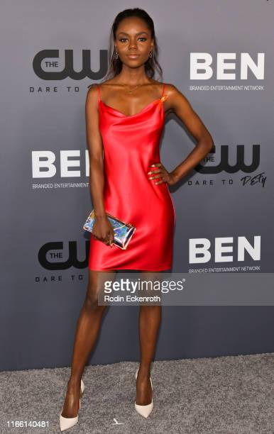 Ashleigh Murray attends The CW's Summer 2019 TCA Party sponsored by Branded Entertainment Network at The Beverly Hilton Hotel on August 04 2019 in...
