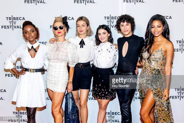 Ashleigh Murray Katherine LaNasa Julia Chan Lucy Hale Jonny Beauchamp and Camille Hyde attends the Katy Keene screening at the 2019 Tribeca TV...
