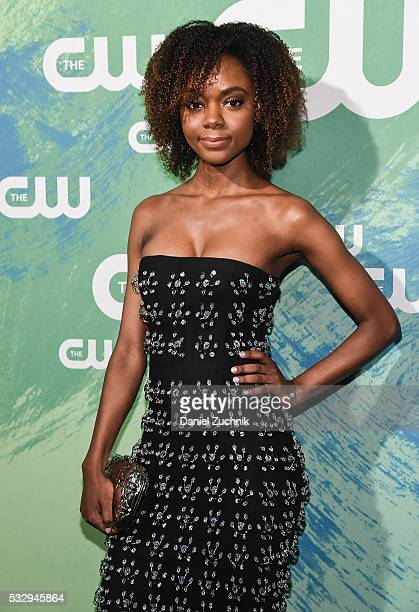 Ashleigh Murray of the series 'Riverdale' attends The CW Network's 2016 New York Upfront at The London Hotel on May 19 2016 in New York City