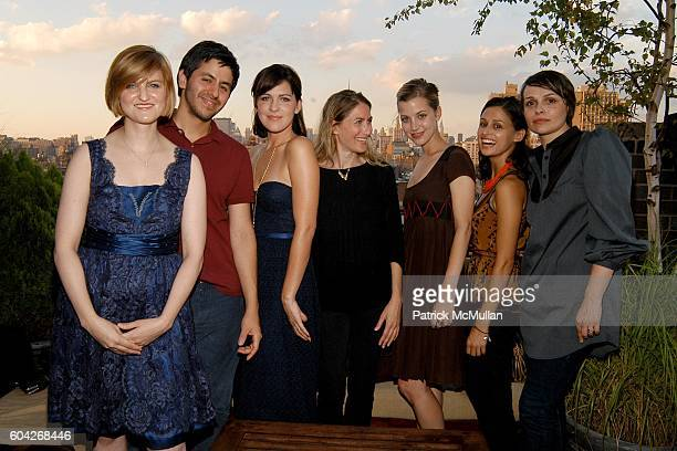 Ashleigh Verrier Brian Reyes Stephanie Schur Sari Gueron Sophie Buhai Lisa Mayock and Alice Ritter attend UPS Hosts Party to Introduce Designers...